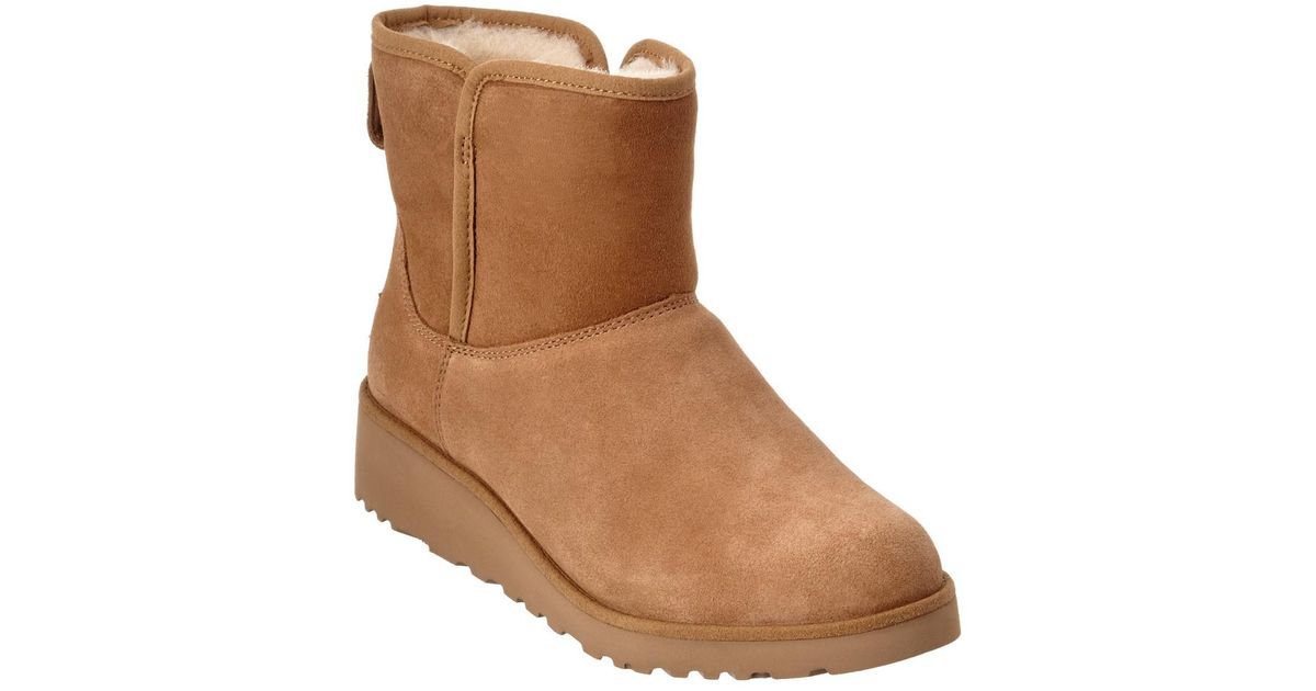 7be8e73cc08c Lyst - UGG Women s Kristin Water-resistant Twinface Sheepskin Boot in Brown