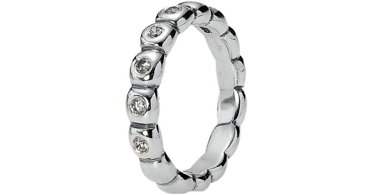 bd9bd5d1e PANDORA Hope Silver Cz Ring in Metallic - Lyst