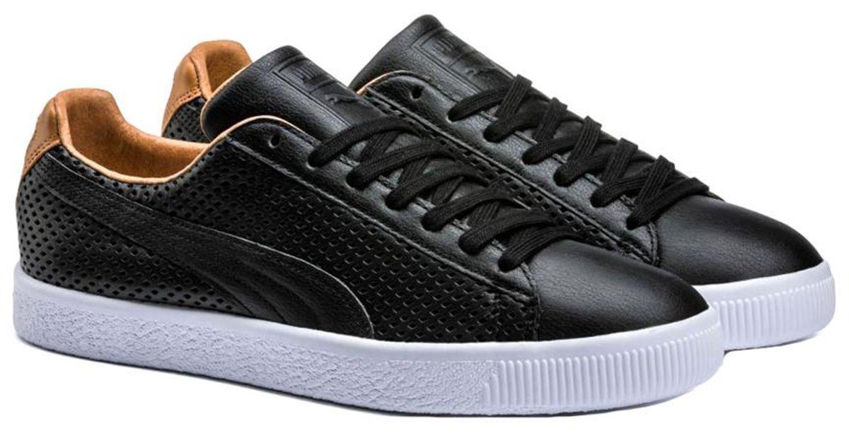 2f95b280a9 PUMA Black Men's Clyde Colorblock 2 Sneaker for men