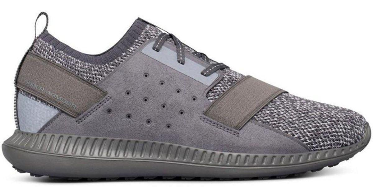 sale retailer e7695 71ab7 Under Armour Gray Men's Threadborne Shift Heathered Lifestyle Shoes for men