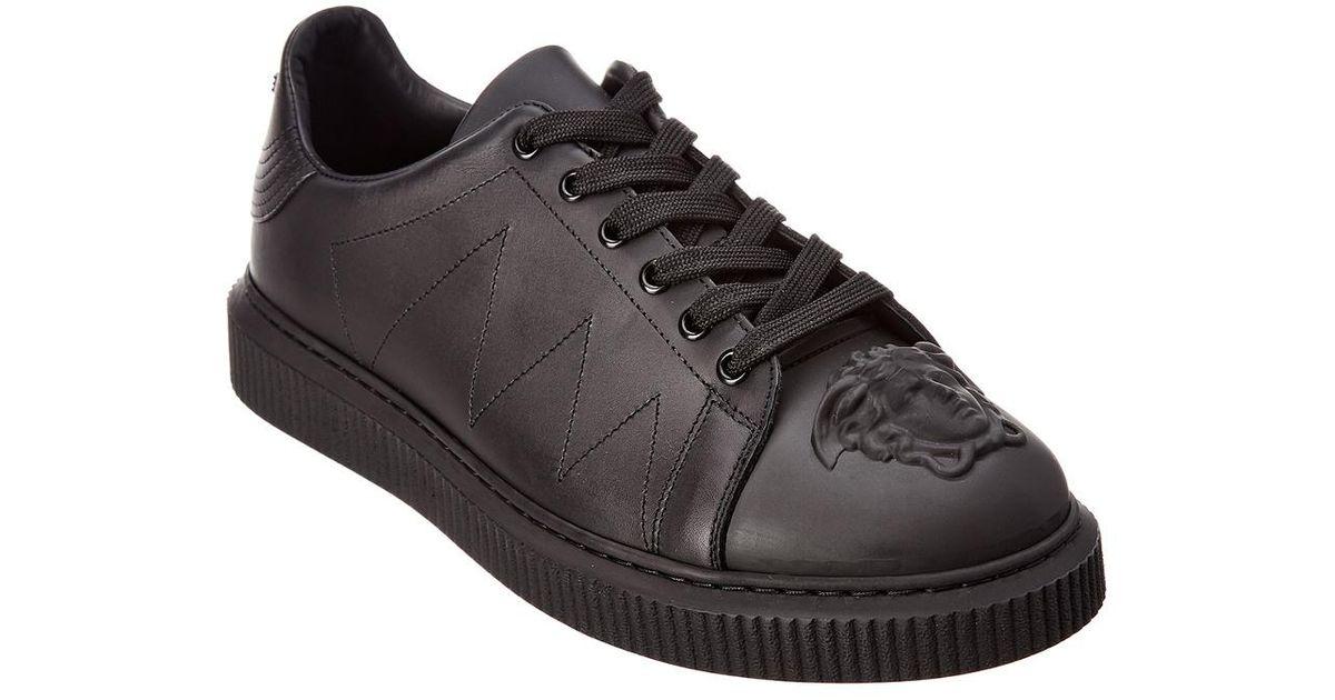 Versace Medusa Chunky Leather Sneaker