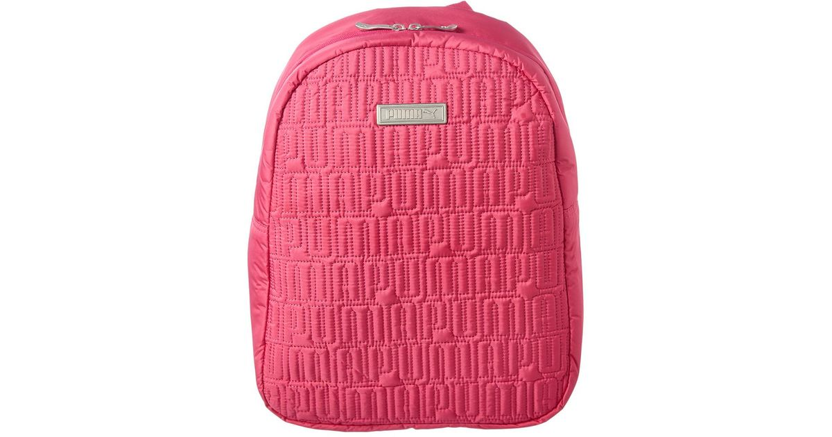 río inquilino subterraneo  PUMA Alpha Mini Backpack in Pink - Lyst