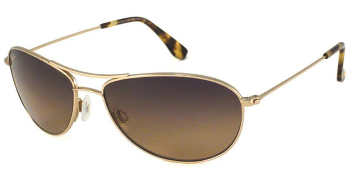 61ce2efd605b Jim In Polarized Beach Baby Sunglasses Metallic Men's Lyst Maui 5FawAxWqzP