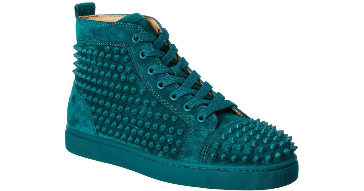 Christian Louboutin Louis Spikes Suede