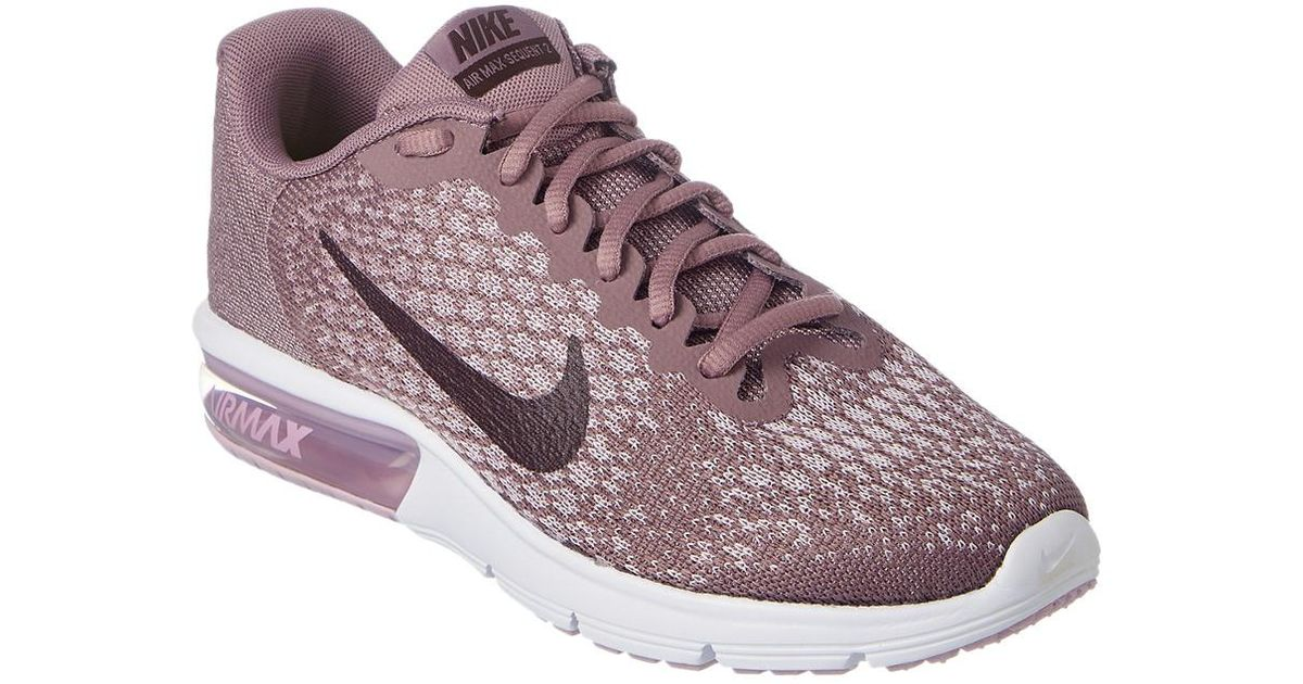 Nike Women's Air Max Sequent 2 Running Shoe in Purple - Lyst