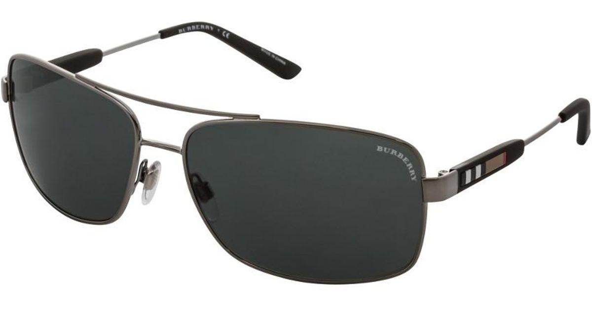 29950b4689 Lyst - Burberry Men s Be3074 100387 Sunglasses for Men