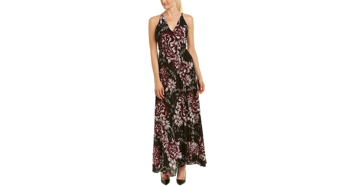 c4d5ae438b0 Lyst - Yumi Kim Silk Maxi Wrap Dress in Black