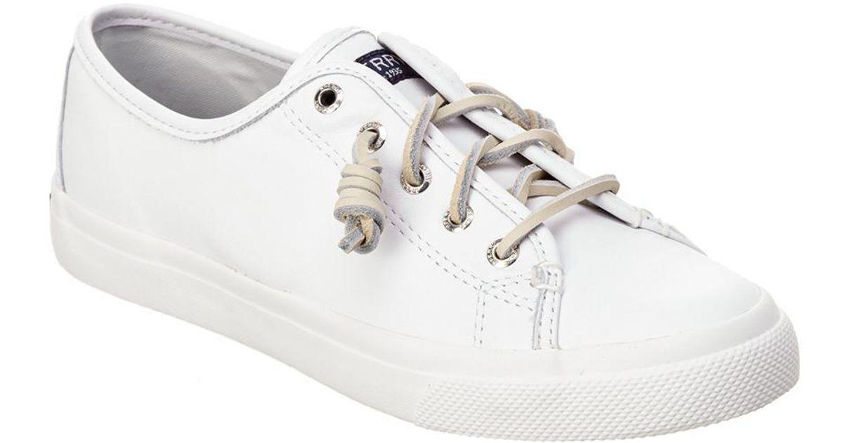 Seacoast Leather Sneaker