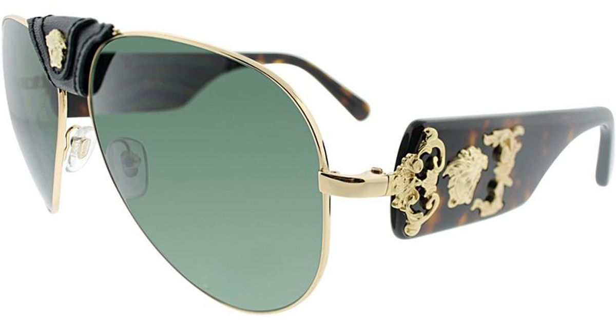 e0358801113f0 Lyst - Versace Women s Ve2150q 62mm Sunglasses in Green