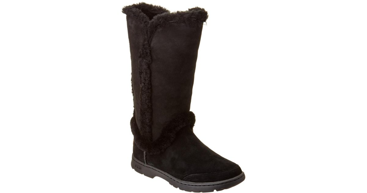 e493a1b45f9 Ugg Black Katia Waterproof Suede Tall Boot