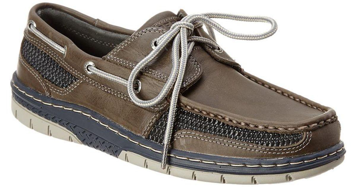 Tarpon Ultralite Boat Shoe in Grey