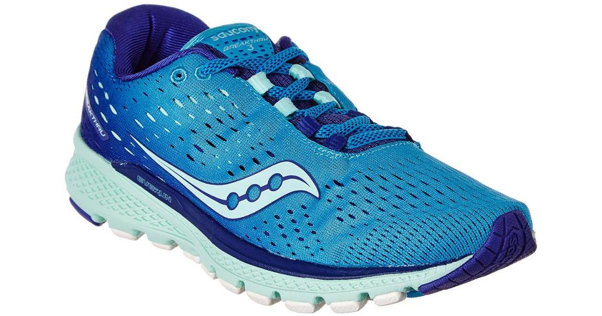 Saucony Blue Women's Breakthru 3 Sneaker