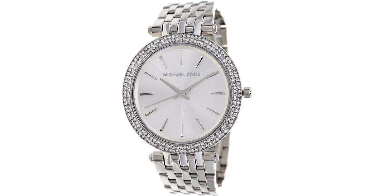 151fbb6f4f39 Lyst - Michael Kors Women s Darci Watch in Metallic