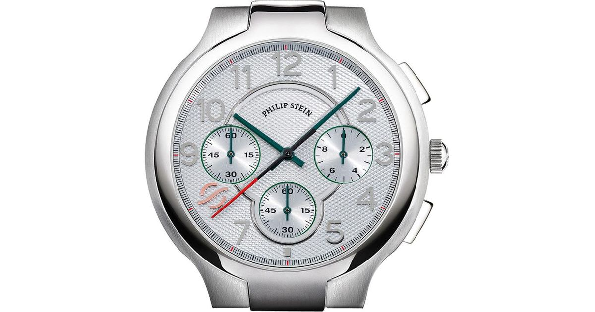 Philip Stein Metallic Signature Watch Case Extra Large Lyst