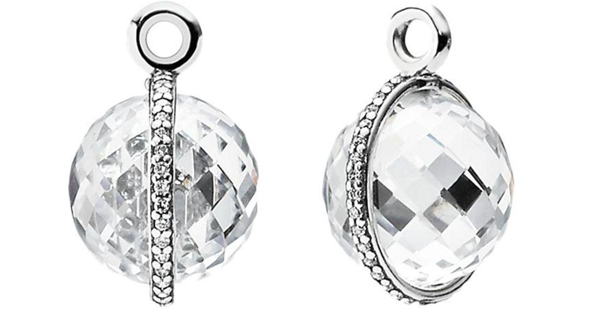 b456106da ... czech lyst pandora midnight star silver cz earring charms in metallic  08c89 d4d32