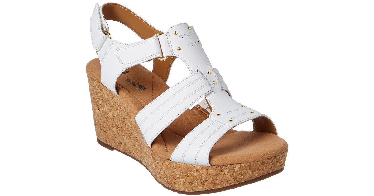 f5c56615ed0 Lyst - Clarks Women s Annadel Orchid Wedge