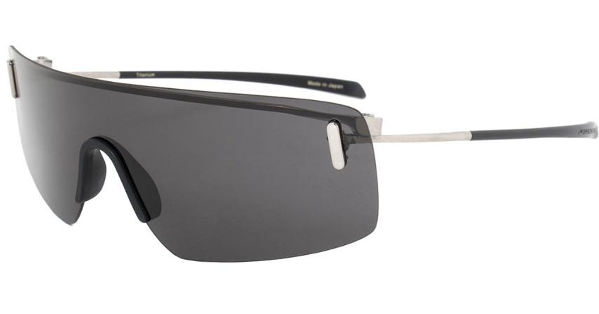 f21a1d75424 Lyst - Porsche Design Design P8482 B 15 Rimless Panorama Sunglasses For Men