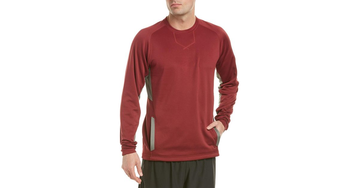 New balance Baseball Pullover in Red for Men | Lyst