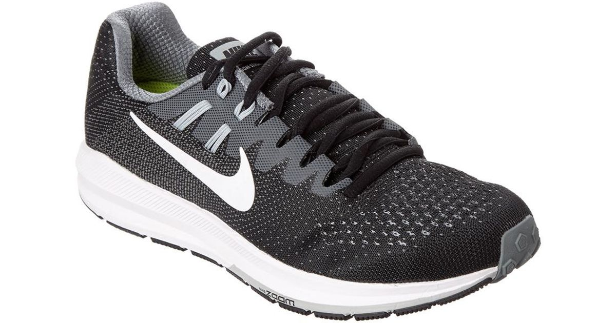 official photos 1a00e 12068 Nike - Black Women's Air Zoom Structure 20 Running Shoe - Lyst