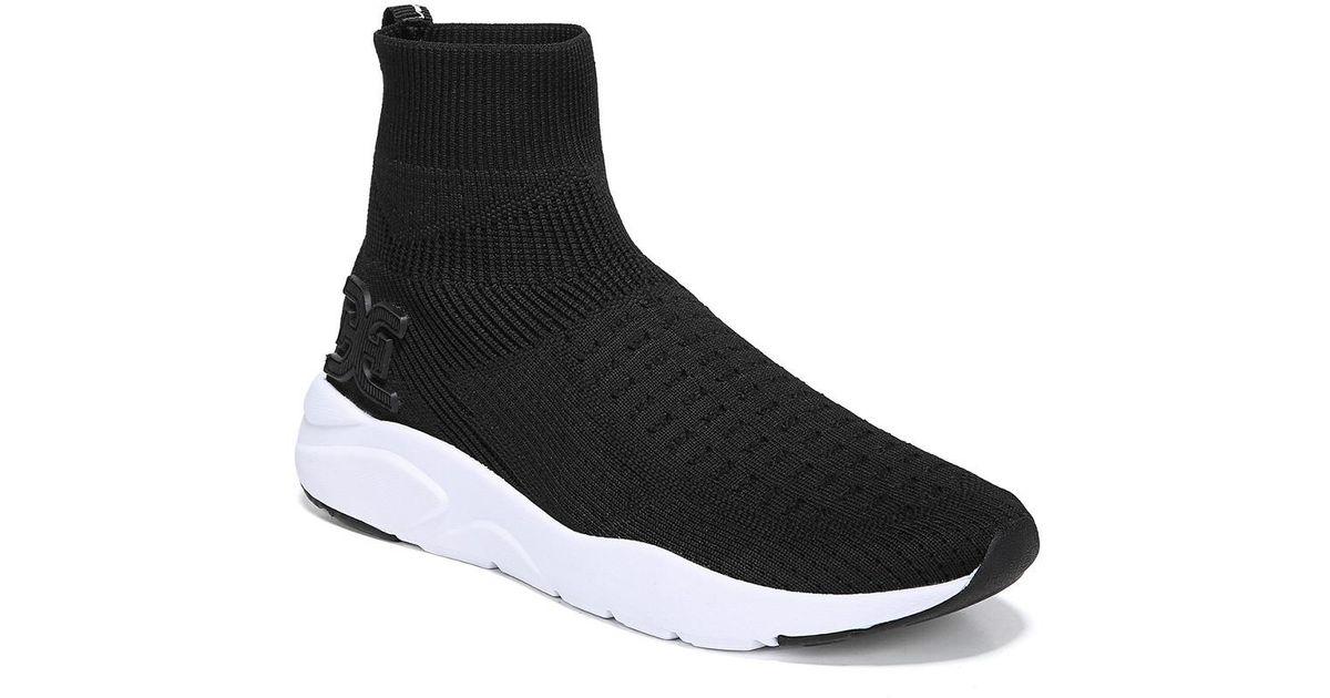Sam Edelman Tara Knit Sneaker in Black
