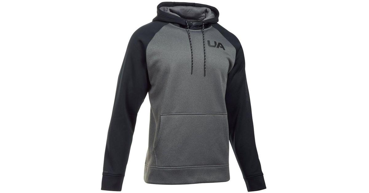 103c9eeb17fc Lyst - Under Armour Men s Storm Armour Fleece® Colorblock Hoodie in Gray  for Men