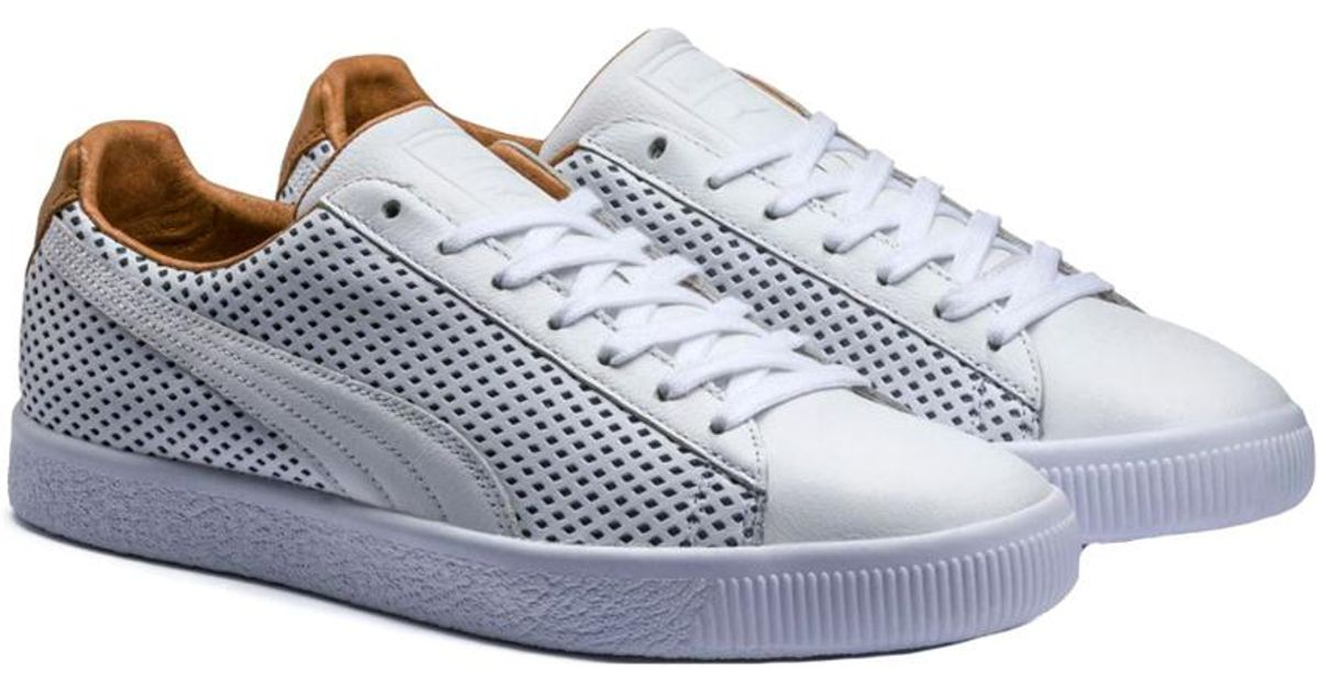 new product 226a7 288c1 PUMA - Multicolor Men's Clyde Colorblock 2 Sneaker for Men - Lyst