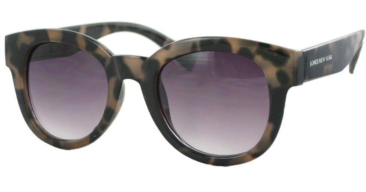 ef09aa92b4 Jones New York Maise Round 53mm Polarized Sunglasses - Lyst