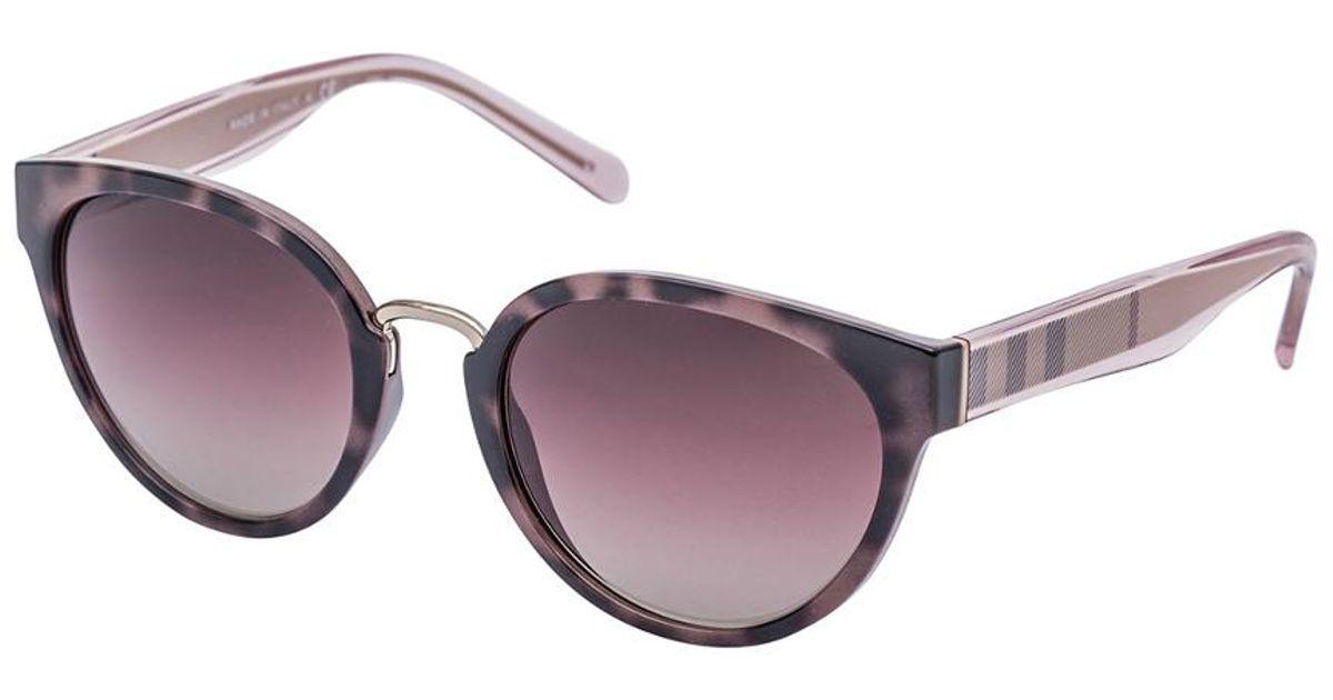 2af9b2662145 Lyst - Burberry Women s Be4249 53mm Sunglasses