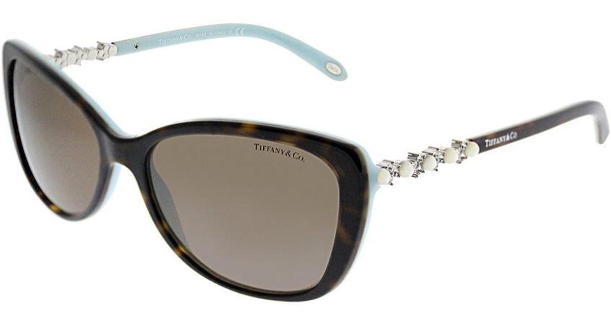 4c92b0ec28 Tiffany & Co. & Co. Women's Tf4103hb 56mm Sunglasses - Lyst