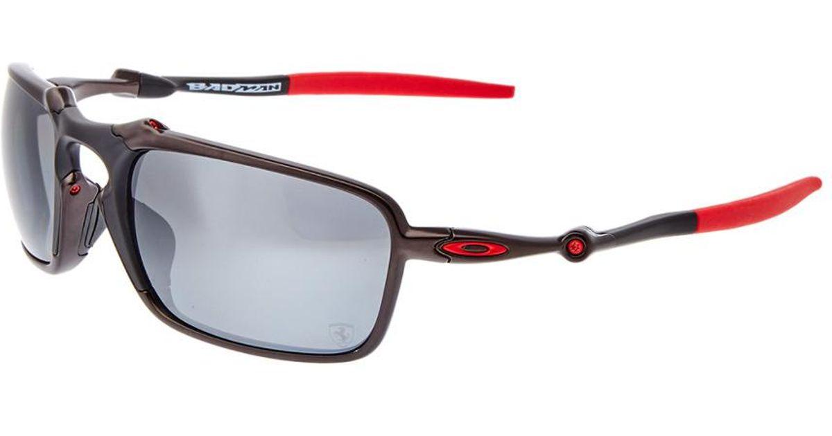 a516bee588 Oakley Men s Badman Sunglasses for Men - Lyst