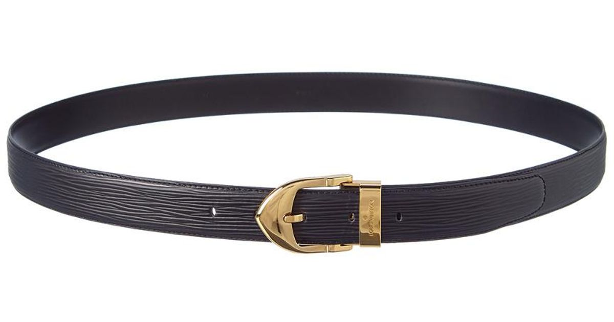 Louis Vuitton Black Epi Leather Ceinture Classic Belt (size 110 44) in  Black - Lyst 2e5d9742b90