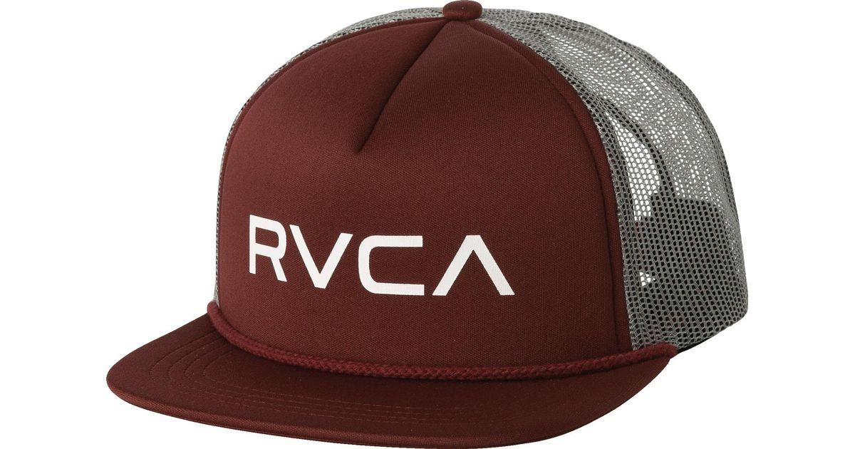 c7866e80 RVCA Foamy Trucker Hat Olive Camo New