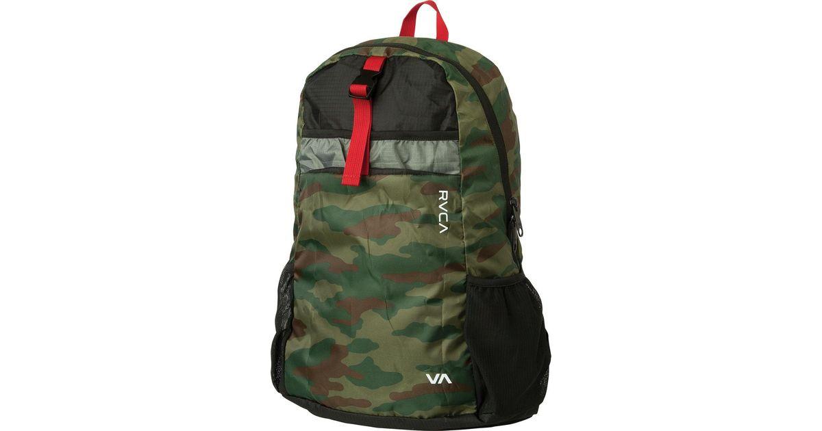e4d8592f7e19 Lyst - RVCA Densen Packable Backpack in Green for Men
