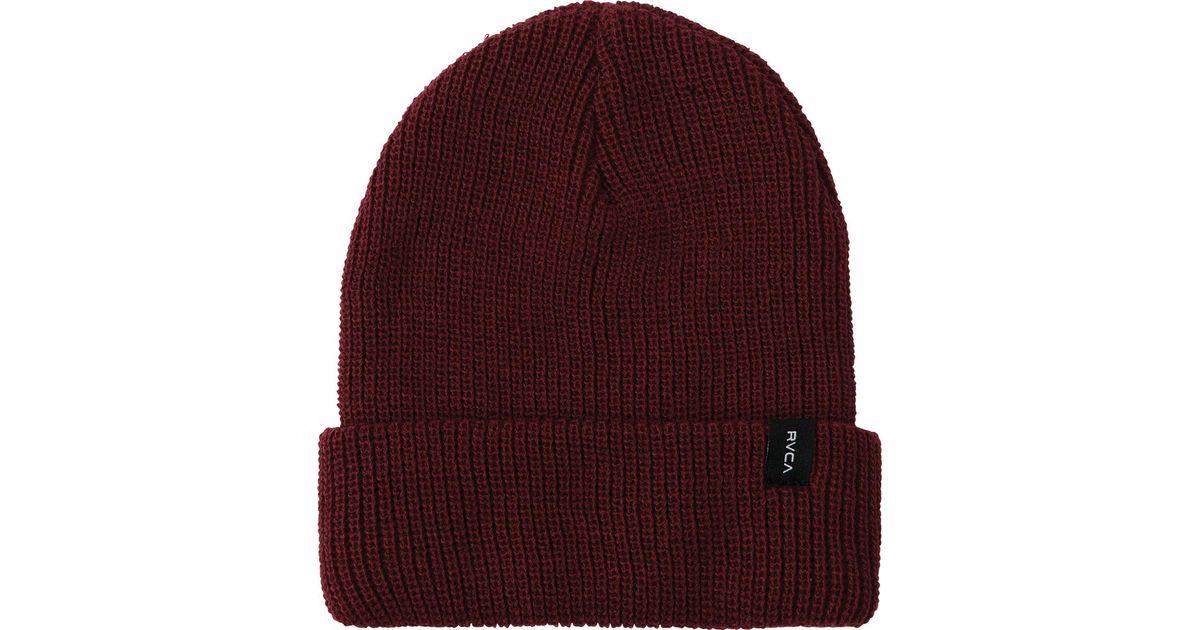 f762c2da ... new zealand lyst rvca towne knit beanie df1b0 08913