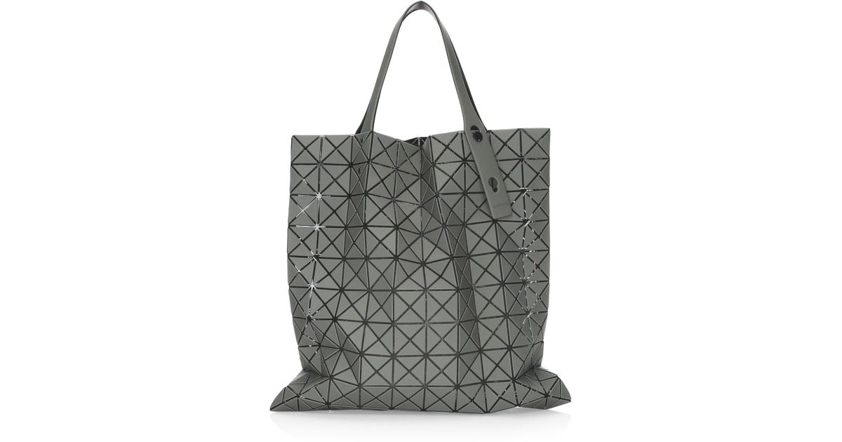 Lyst - Bao Bao Issey Miyake Light Pink Prism Frost Tote 0f92b34065296