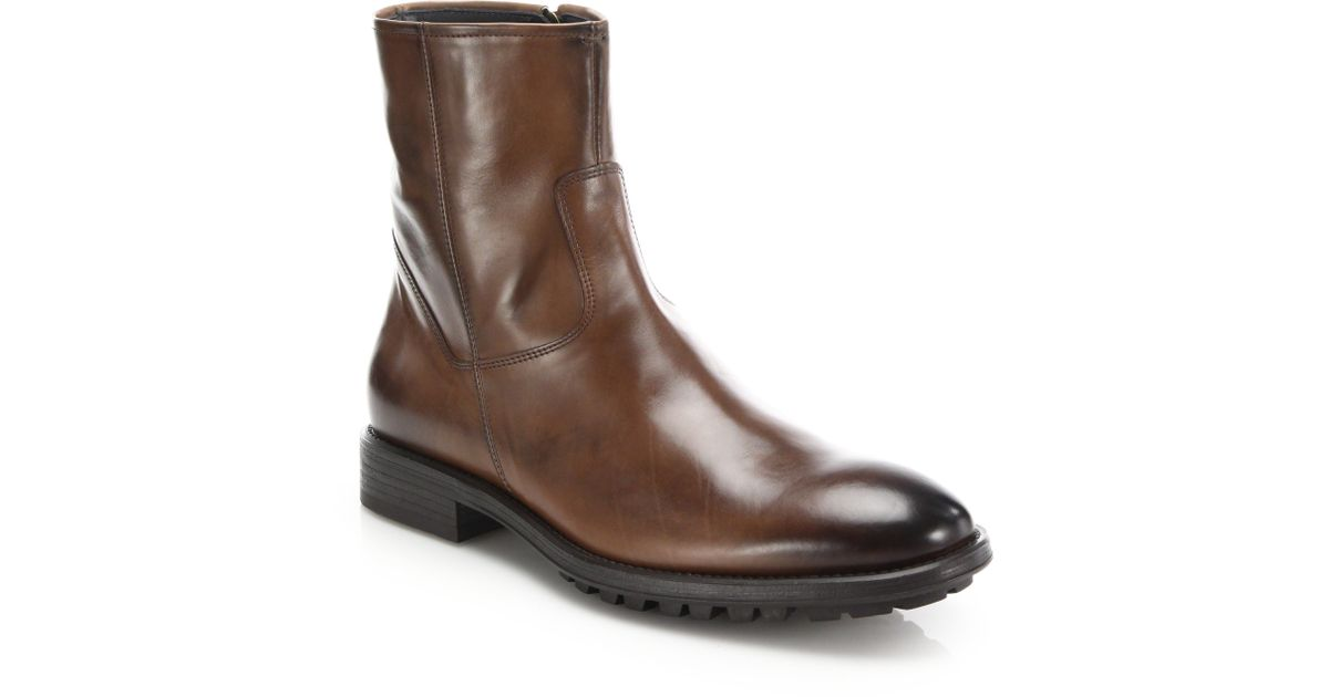 To BootHarrison Leather Side-Zip Boots 3X4I8QmRSX