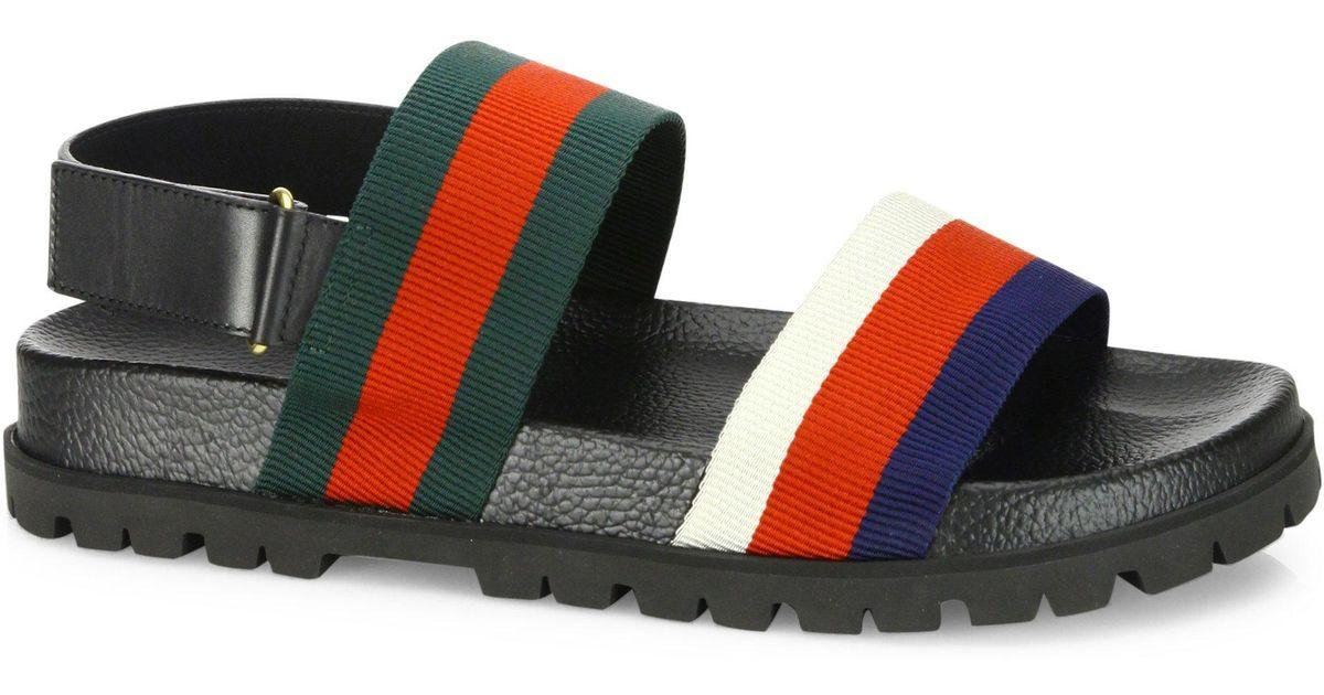 Gucci Rimini Leather Double Strap
