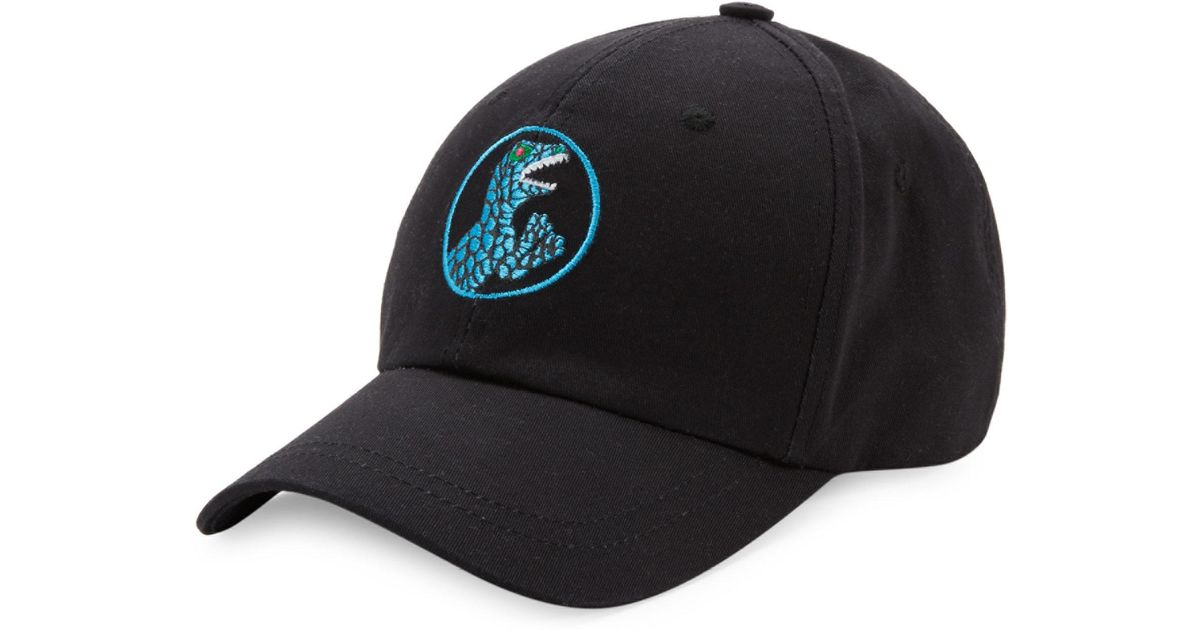 Lyst - Paul Smith Dino Cotton Baseball Cap in Black for Men 09848f6eed1