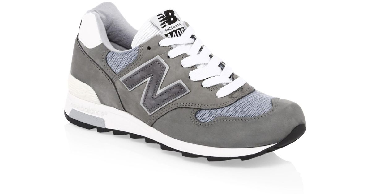 New Balance Gray 1400 Made In Usa Sneakers for men