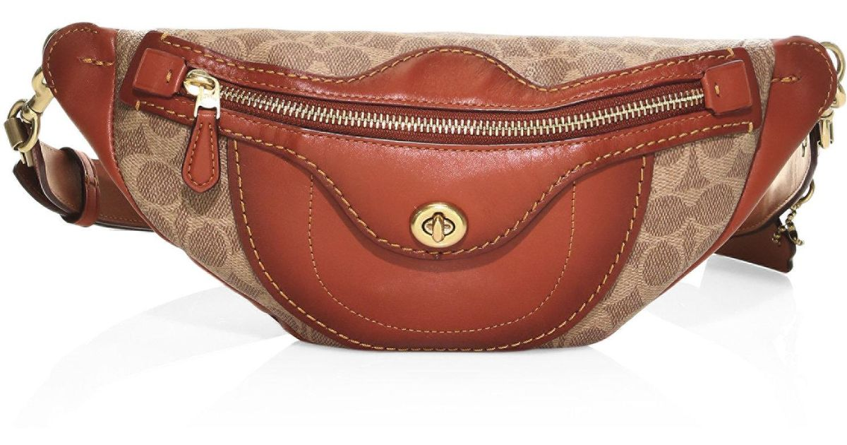 5e8940a5ca7 COACH Multicolor Campus Fanny Pack