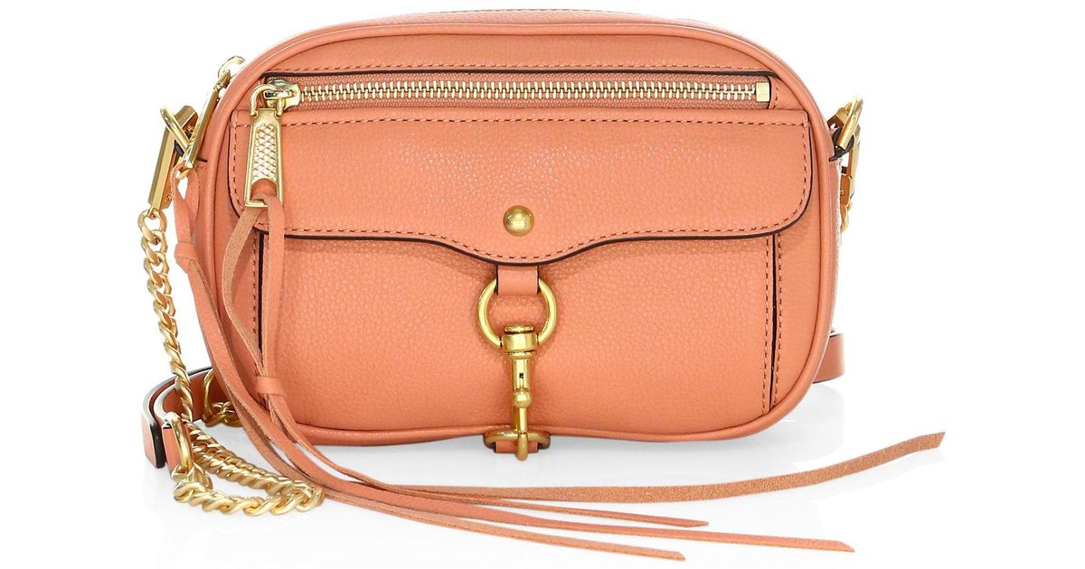 50f1916f4e1b5 Lyst - Rebecca Minkoff Blythe Leather Crossbody Bag