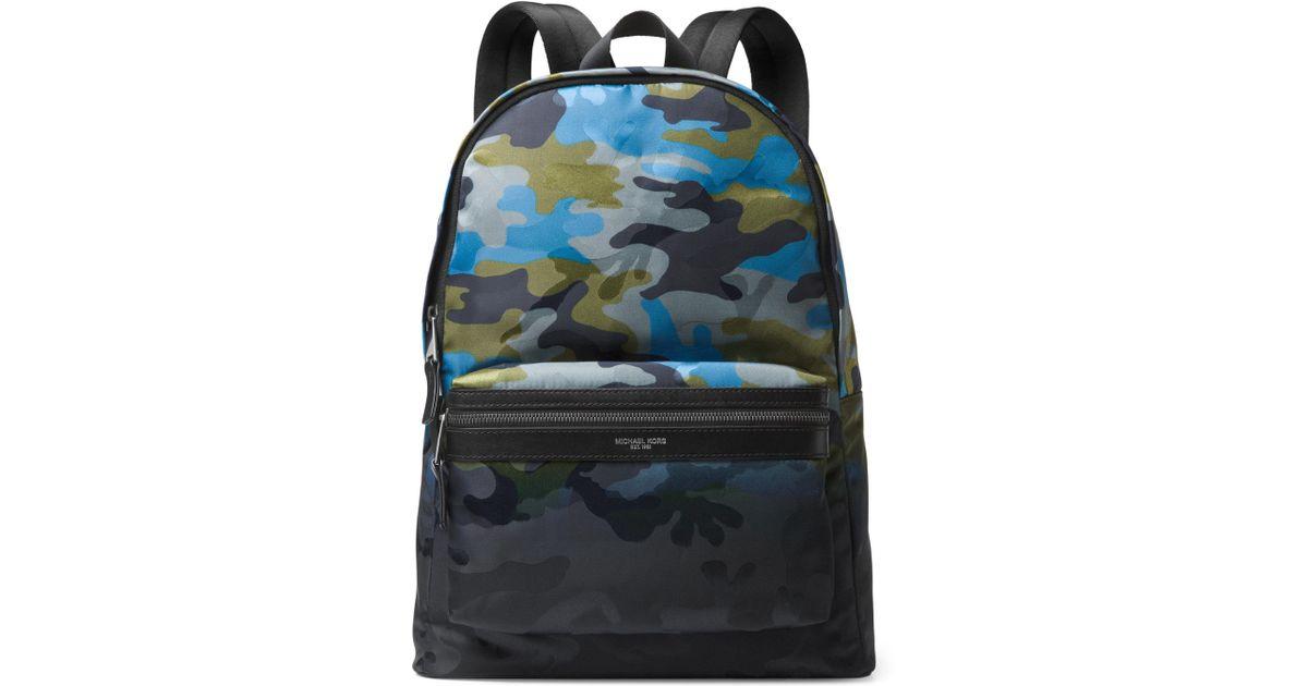 f8cf940da69f Michael Kors Ocean Camo Backpack for Men - Lyst