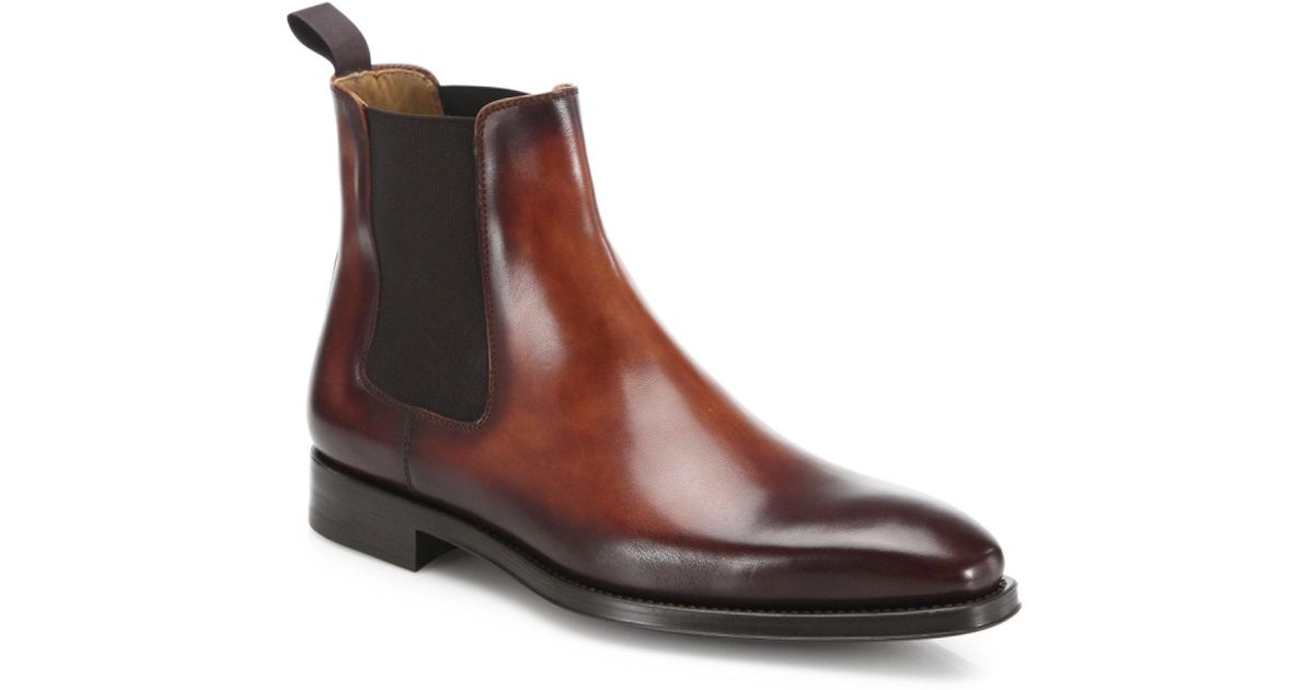 Saks Fifth AvenueCOLLECTION BY MAGNANNI Leather Chelsea Boots y3AG9Y3S