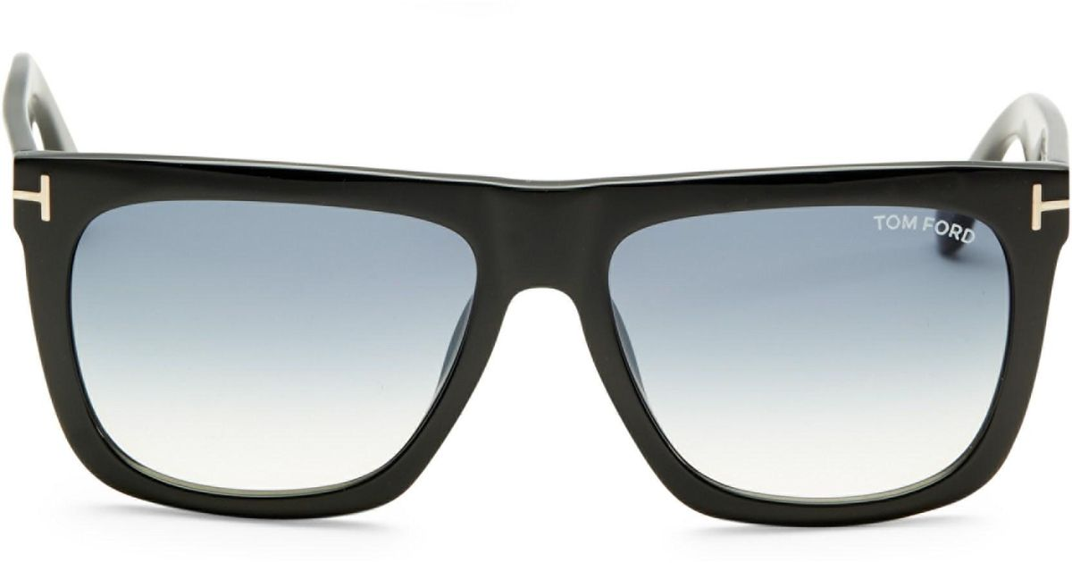 12aec857d1 Lyst - Tom Ford Morgan 57mm Soft Square Sunglasses in Black for Men