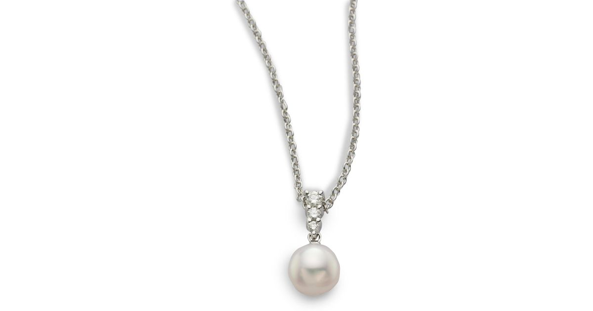 p akoya main necklace pearl