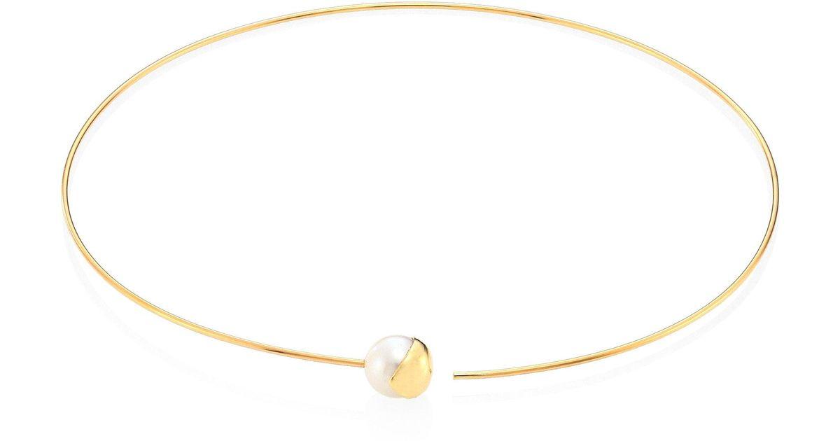 Mizuki Fluid Tahitian Pearl Lariat Drop Necklace xZqDl3r6E8