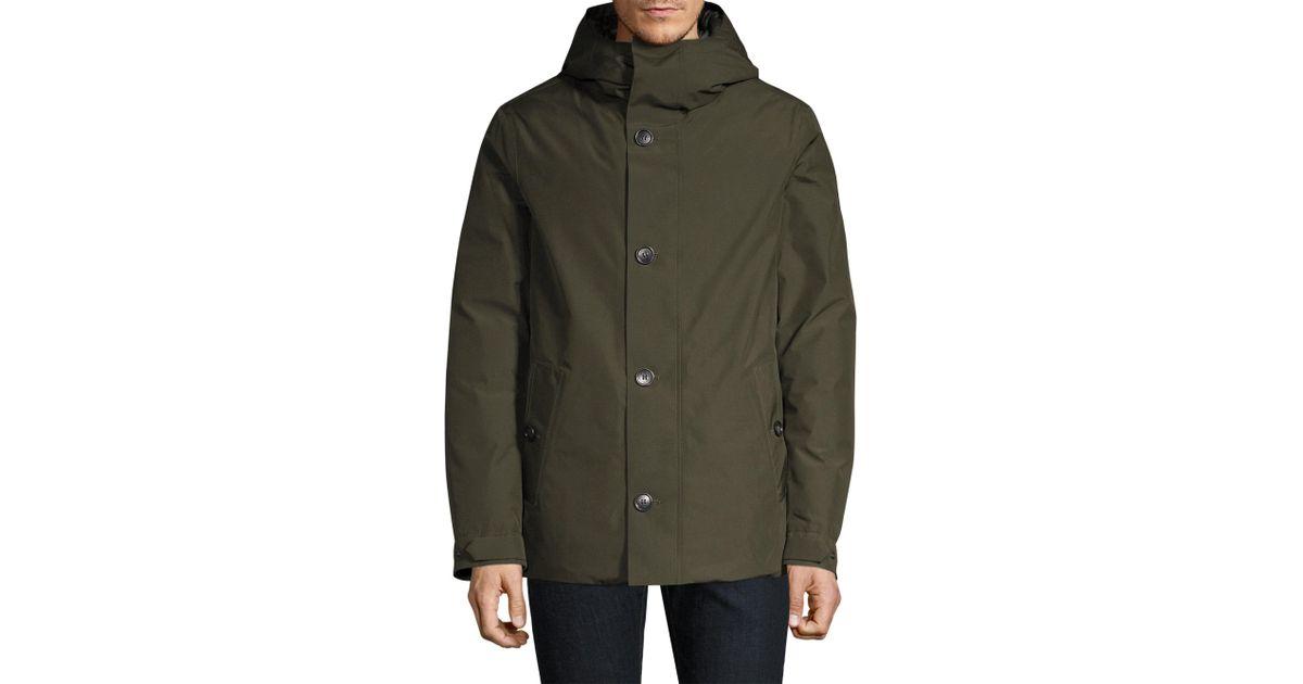 3d8fbf5cd4e3 Woolrich Gtx Alpine Duck Down   Feather Fill Jacket in Green for Men - Lyst