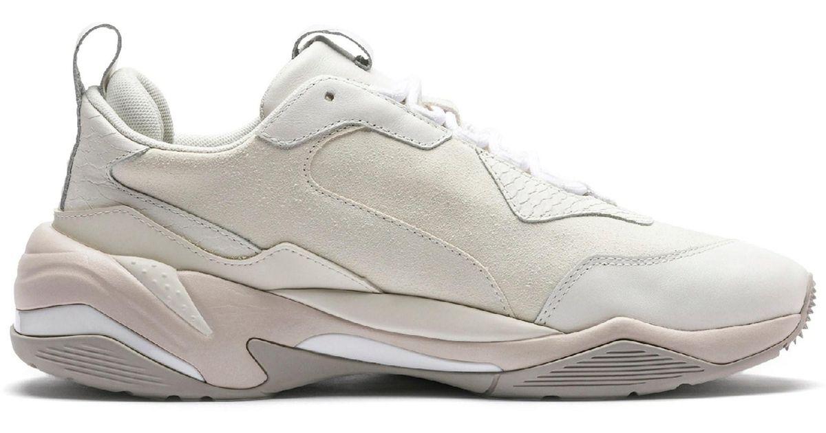 PUMA White Thunder Desert Sneakers for men