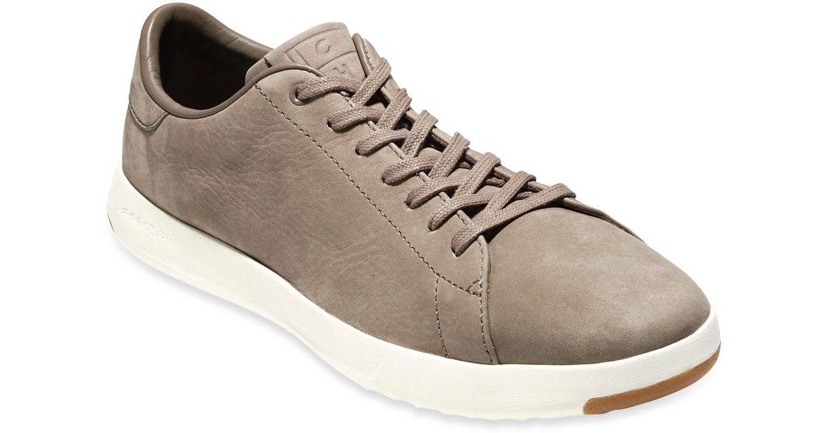 72dde5957d5 Lyst - Cole Haan Grandpro Leather Tennis Sneakers in Brown for Men