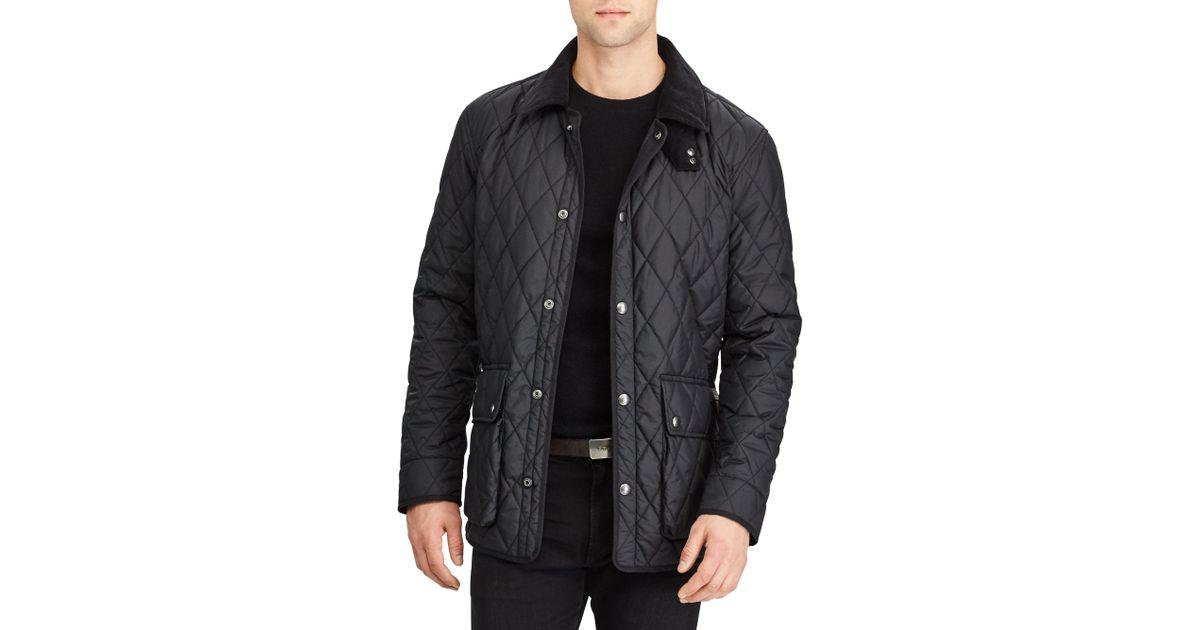 Polo Ralph Lauren Kempton For Black Matte Coat Men Car HIWE2Y9D